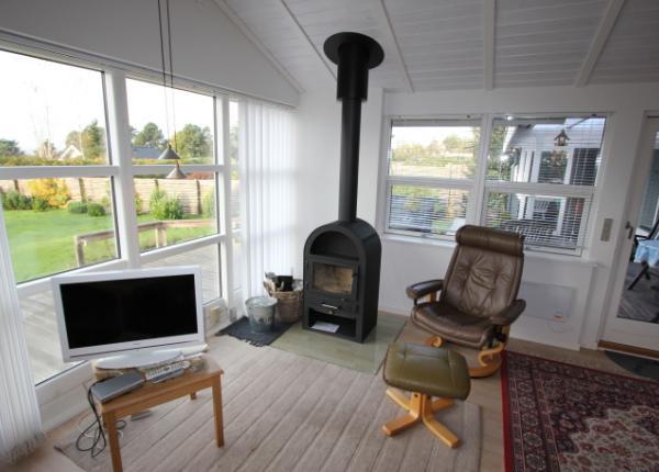 Spitze Holz-Sydsee-Ferienhaus